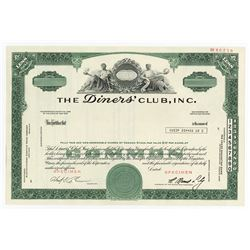 Diners Club, Inc., ca.1960 Specimen Stock