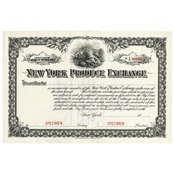 New York Produce Exchange ca.1910-1930 Specimen