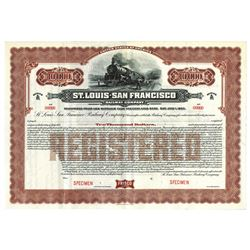 St. Louis-San Francisco Railway Co., ca.1900-1910 Specimen Bond