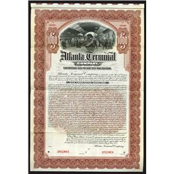 Atlanta Terminal Co., 1903 Specimen Bond