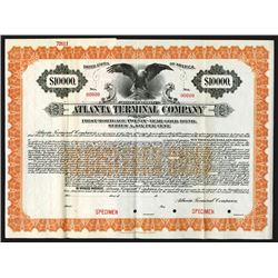 Atlanta Terminal Co., 1919 Specimen Bond