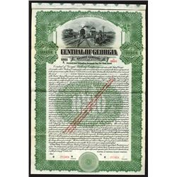 Central of Georgia Railway Co., 1912 Specimen Bond