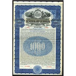 Central of Georgia Railway Co., 1919 Specimen Bond
