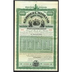 Georgia Midland Railway Co., 1896 Specimen Bond