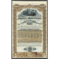Marietta & North Georgia Railway Co. 1887.
