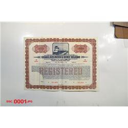 Chicago, Burlington & Quincy Railroad Co., ca.1900-1910 Specimen Bond