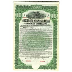 Missouri, Kansas & Texas Railway Co., 1904 Specimen Bond