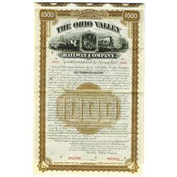 Ohio Valley Railway Co., 1888 Specimen Bond