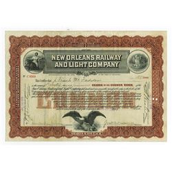 New Orleans Railway and Light Co., 1915 Issued Stock