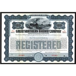 Great Northern Railway Co., ca.1911 Specimen Bond