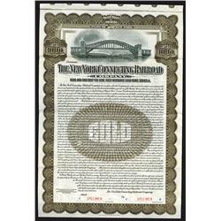 New York Connecting Railroad Co., 1913 Specimen Bond