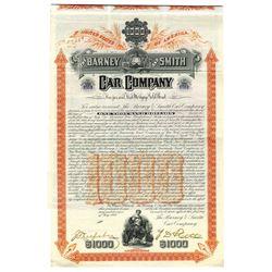 Barney & Smith Car Co., 1906 Issued Bond