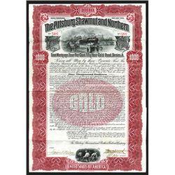 Pittsburg, Shawmut & Northern Railroad Co. 1902.