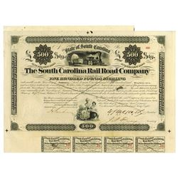 South Carolina Rail Road Co., 1868 Issued Bond