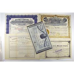 Tennessee Coal, Iron and Railroad Co., 1901 Specimen Bond