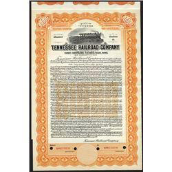 Tennessee Railroad Co. 1937 Specimen Bond