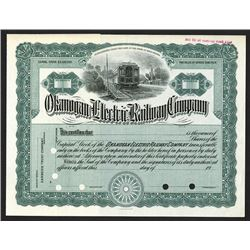 Okanogan Electric Railway Co., ca.1900-1920 Specimen Stock