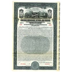 Chicago, Milwaukee, St. Paul and Pacific Railway Co., 1925 Specimen Bond