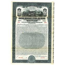 Chicago, Milwaukee, St. Paul and Pacific Railway Co., 1925 Specimen Bond