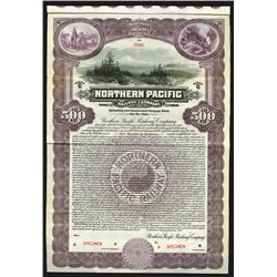 Northern Pacific Railway Co., 1922 Specimen Bond