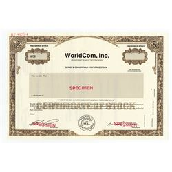 WorldCom, Inc. ca.1990-2000 Specimen Stock