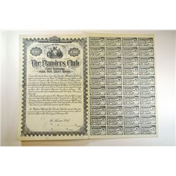 Flanders Club, 1896 Specimen Bond