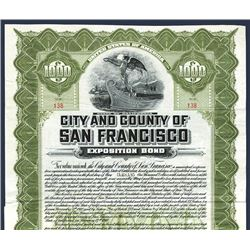 City and County of San Francisco, Issued Bond.