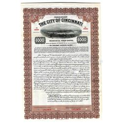 "City of Cincinnati, ""The Cincinnati Southern Railway, 1920 Specimen Bond"