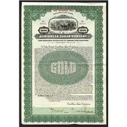 Caribbean Sugar Co., 1926 Issued Bond.