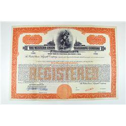 Western Union Telegraph Co. 1930.