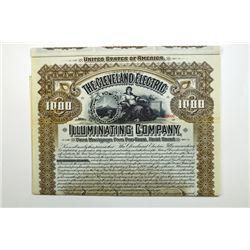 Cleveland Electric Illuminating Co. 1898.