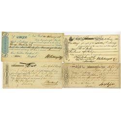 New York Bill of Exchange, 1837 to 1846 Bill of Exchange Group.