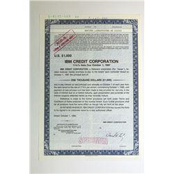 IBM Credit Corp. 1984.