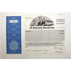 Bancorp Hawaii, Inc. 1980.