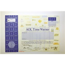 AOL Time Warner, 2001 Specimen Stock.