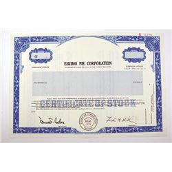 Eskimo Pie Corp. 1987.  Specimen Stock Certificate.