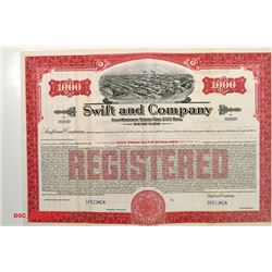 Swift and Co., 1935 Specimen Bond