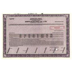 Sanyo Electric Co., Ltd., 1989 Specimen Stock