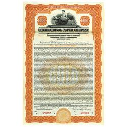 International Paper Co., 1925 Specimen Bond