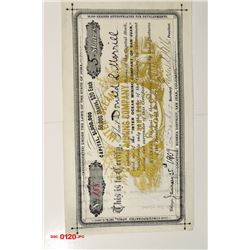 Inter Ocean Mining Co. of San Juan, Colorado, 1909 Issued Stock