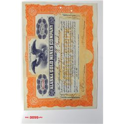 Alaska Gold Mines Co., 1917 Issued Stock
