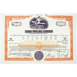 Exxon Pipeline Co. 1985 Specimen Bond..