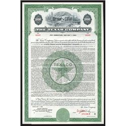 Texas Co., 1958 Specimen Bond