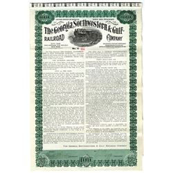 Georgia, Southwestern & Gulf Railroad Co., 1909 Issued Bond