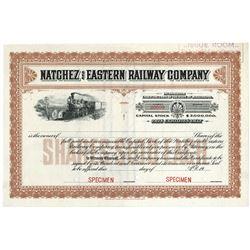 Natchez and Eastern Railway Co., ca.1920-1930 Specimen Stock