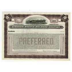 Missouri Pacific Railroad Co., ca.1910-1920 Specimen Stock