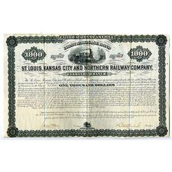 St. Louis, Kansas City & Northern Railway Co., 1879.