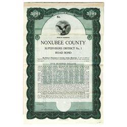 Noxubee County, 1920 Specimen Bond