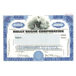 Holly Sugar Corp., 1980 Specimen Stock Certificate