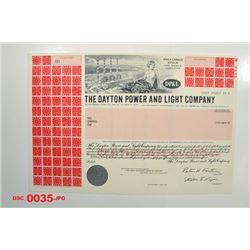 Dayton Power and Light Co., ca.1960-1970 Specimen Stock